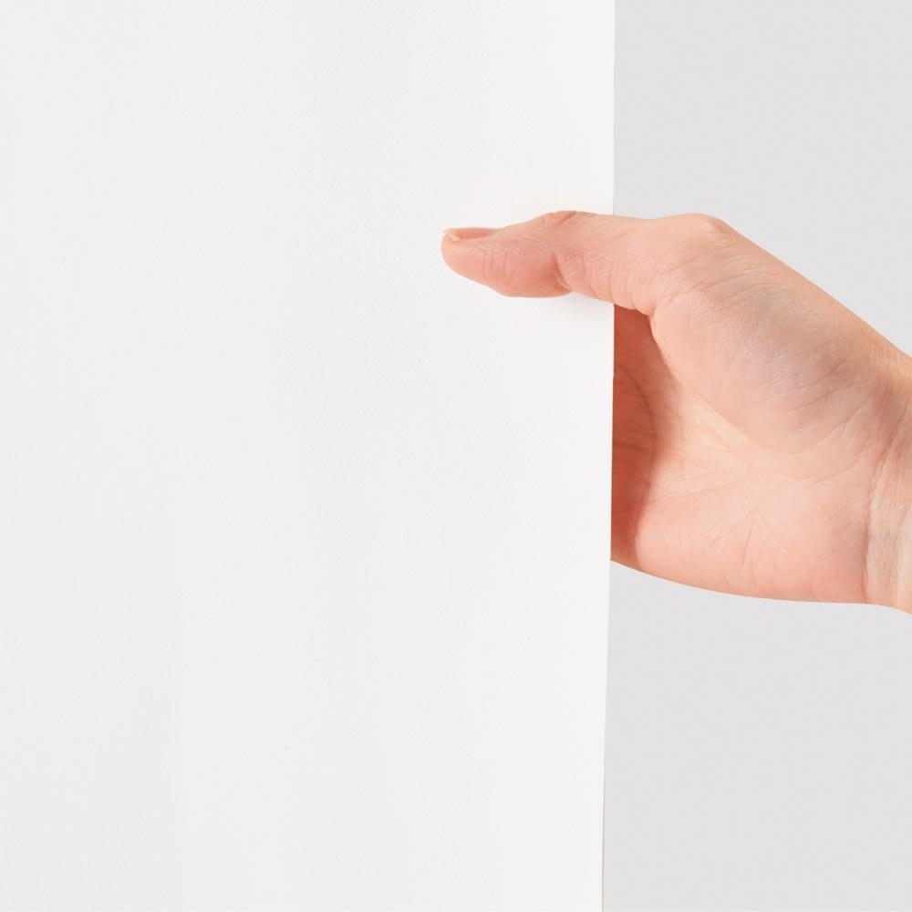 ARIKI/アリキ 耐久はっ水スリット入りパンツ 白でも透けにくい 白いパンツでも透けにくいのも魅力です。
