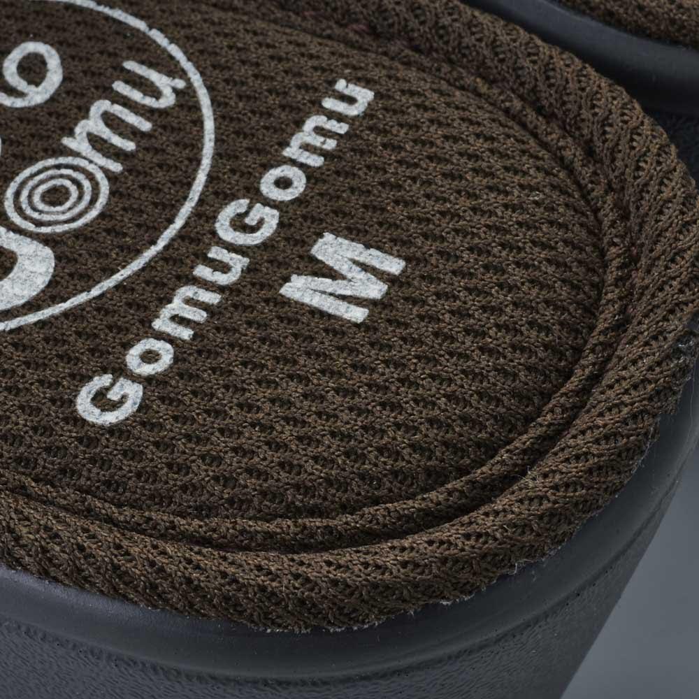 GOMU GOMU/ゴムゴム 厚底コンフォートサンダル