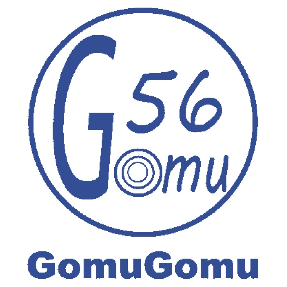 GOMUGOMU/ゴムゴム クロスゴム厚底サンダル