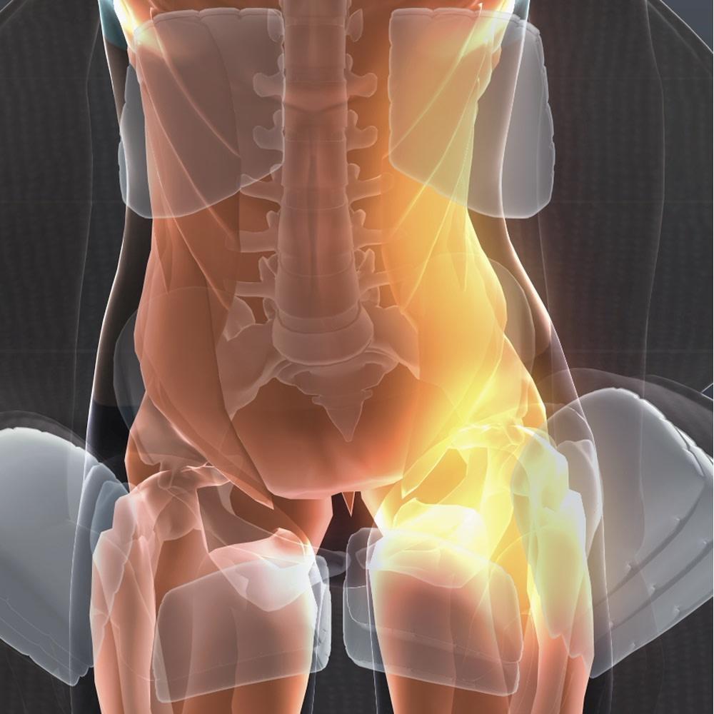 芦屋美整体 骨盤プロリセットエアー 02 骨盤引きしめ サイドと背面のエアーバッグが骨盤周りを立体的に動かしながら、心地よく引き締めます。 ※イメージ