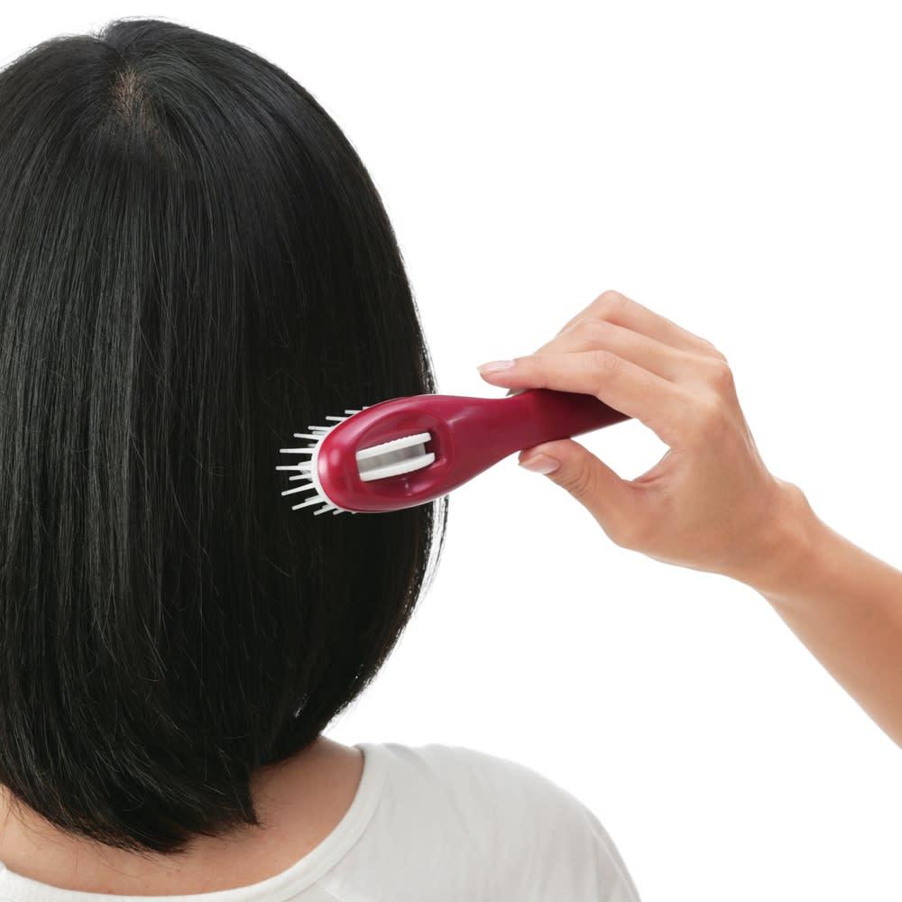 サローネシリーズ ヘアカットブラシ 子供から大人の髪まで