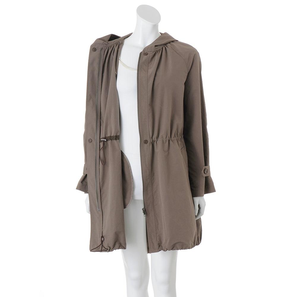 透湿防水素材 モッズコート 裾ドローストリング仕様    ※インナーは含まれません。