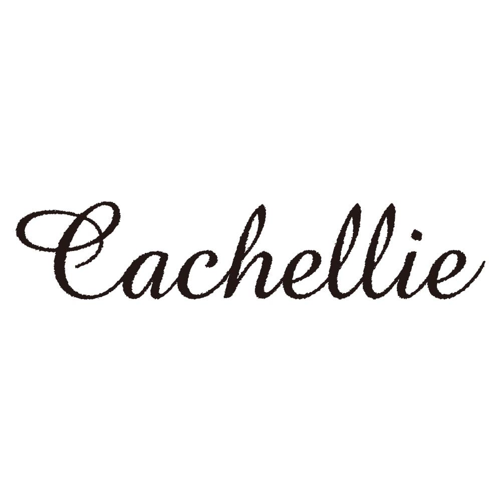 Cachellie/カシェリエ レザーコンビ 2WAY バッグ