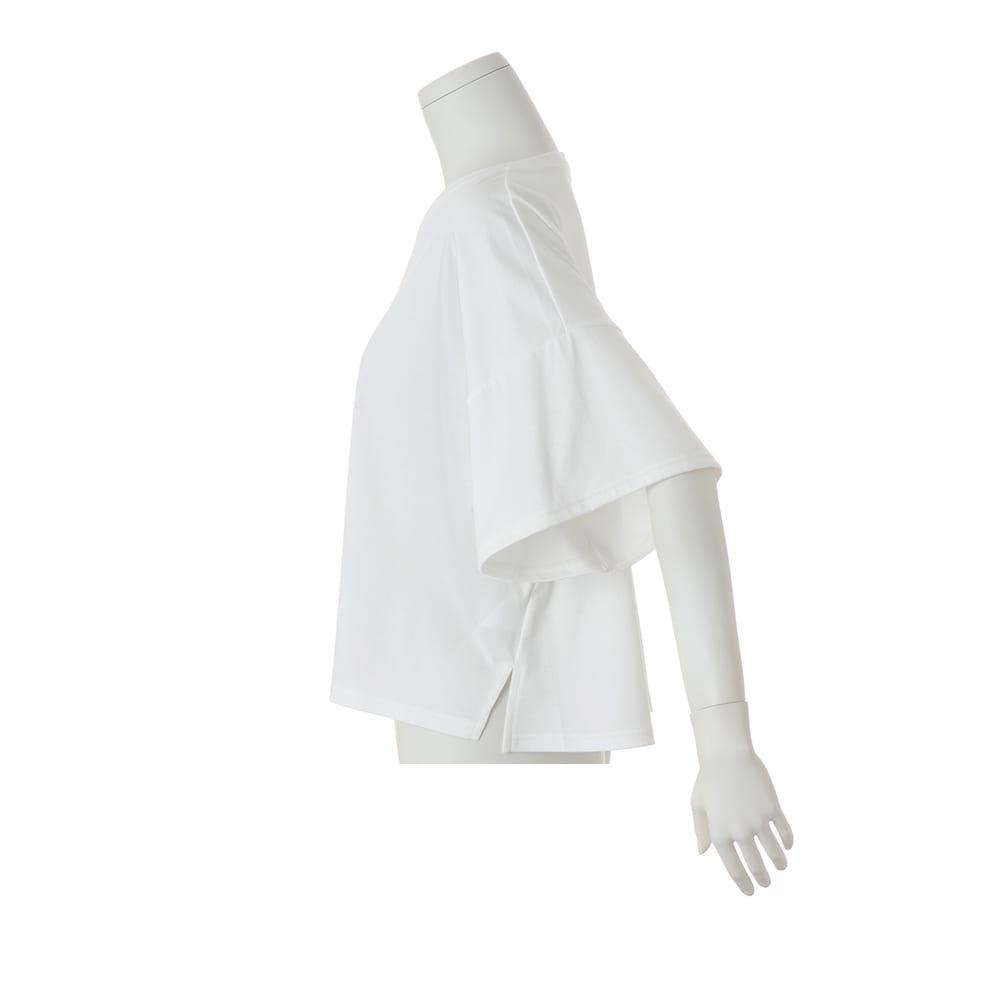 コンパクトコットン ビッグスリーブ Tシャツ
