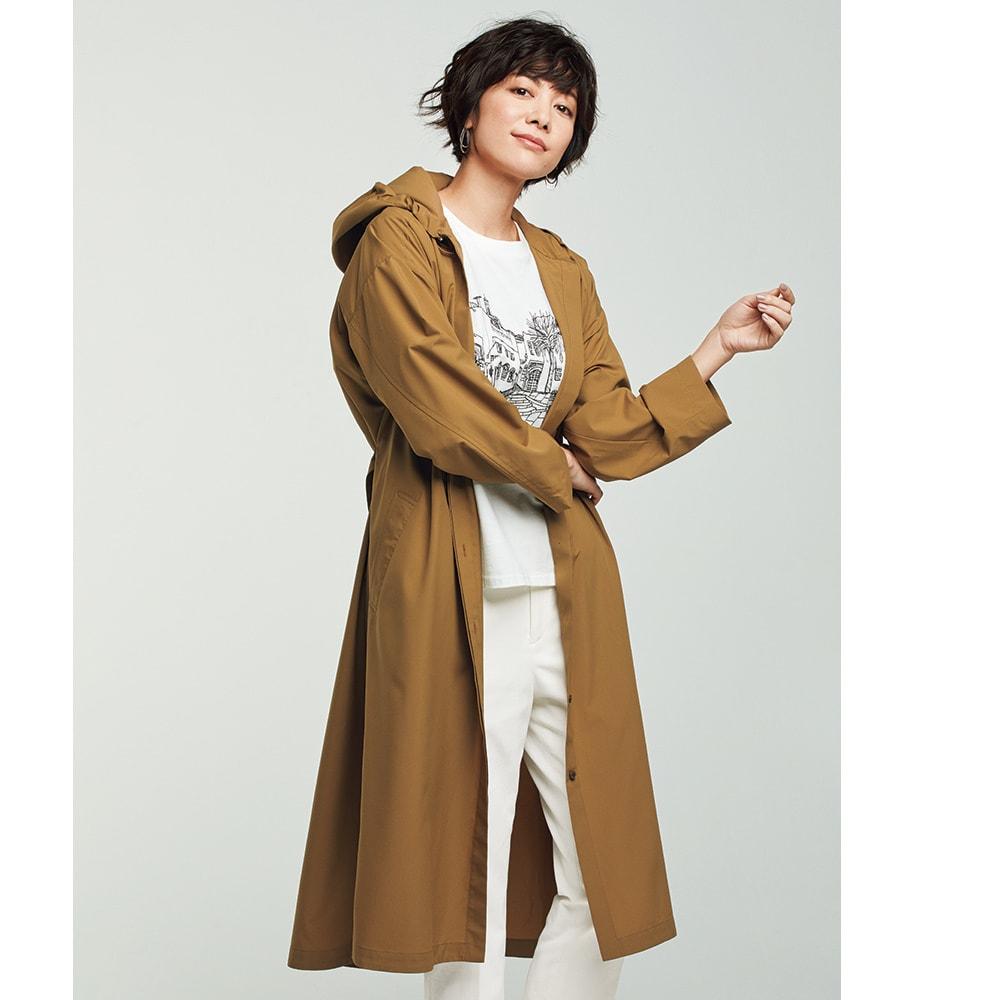 ランドスケープ刺しゅう Tシャツ コーディネート例