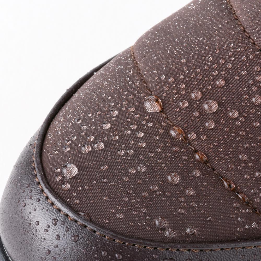 あったかサイドゴア ウォーキングブーツ【特典付き】 はっ水加工 水をしっかりはじくから、急な雨や雪にも安心。