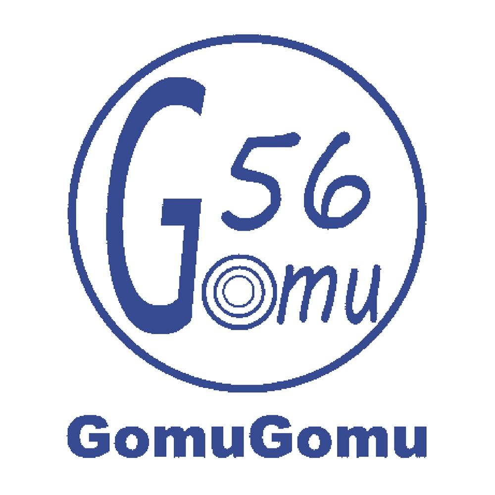 GOMUGOMU/ゴムゴム スタッズ使いスリッポン