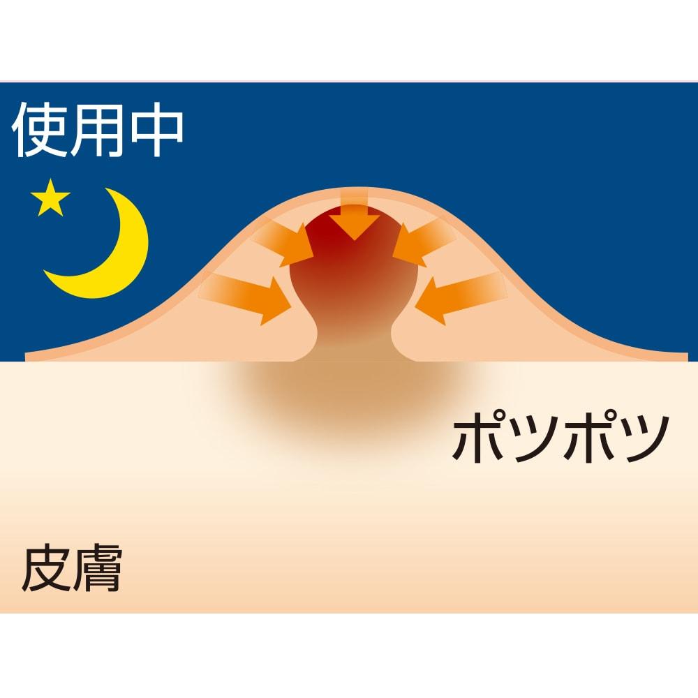美ハリ おやすみぽつぽつシート(90枚入) 美肌成分が肌にじんわりと働きかけます。