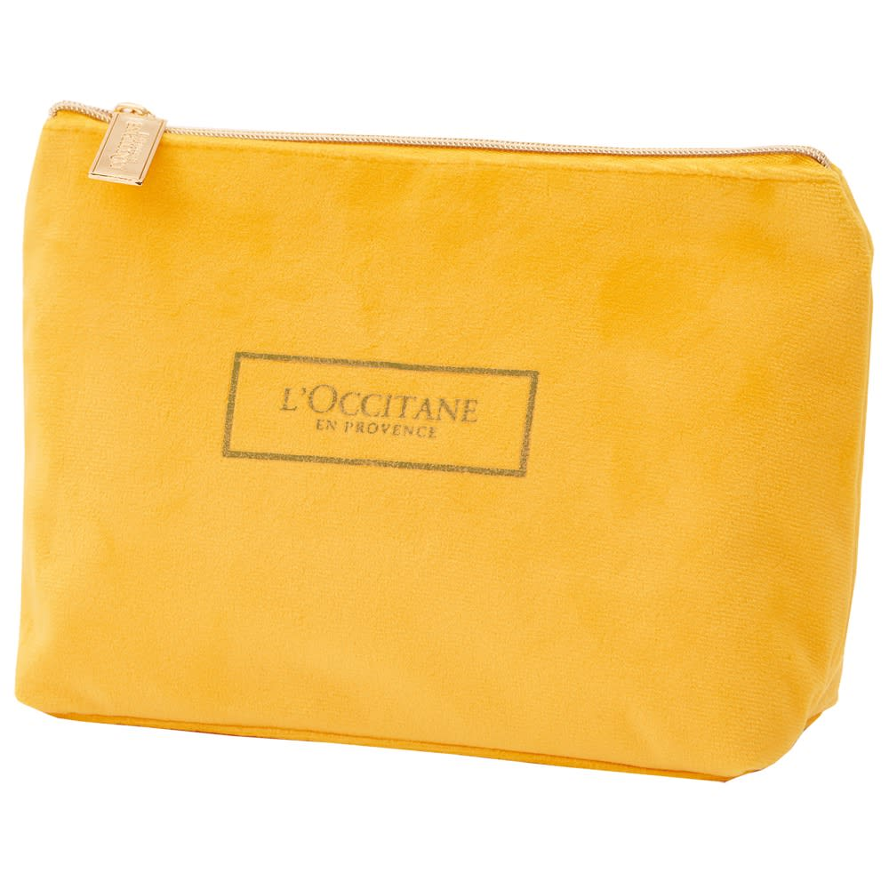 L'OCCITANE/ロクシタン ハーバルハンドクリーム アソート ポーチ サイズ:約タテ14×ヨコ23×マチ6cm