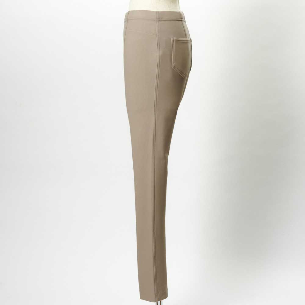 あったか素材 美脚ベーシックレギンスパンツ(日本製) SIDE ※色は写真1・2枚目をご覧下さい。