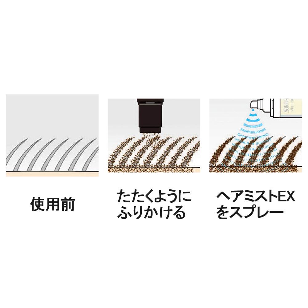 スーパーミリオンヘアーEX 【ディノス限定特別セット】 10秒でナチュラルな増毛感
