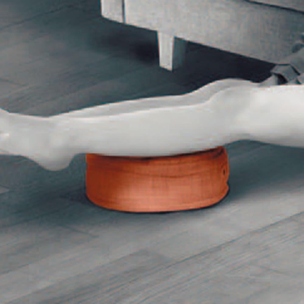 ルルド フットマッサージャーミニ プロ 足の置き方を変えればいろんな部位に使える!