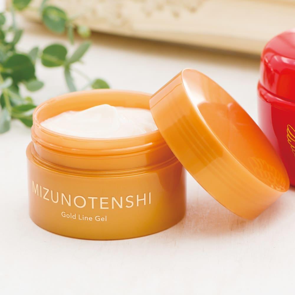 美容 健康 ダイエット スキンケア 基礎化粧品 美容液 マッサージクリーム 水の天使シリーズ ゴールドラインゲル 100g C31158