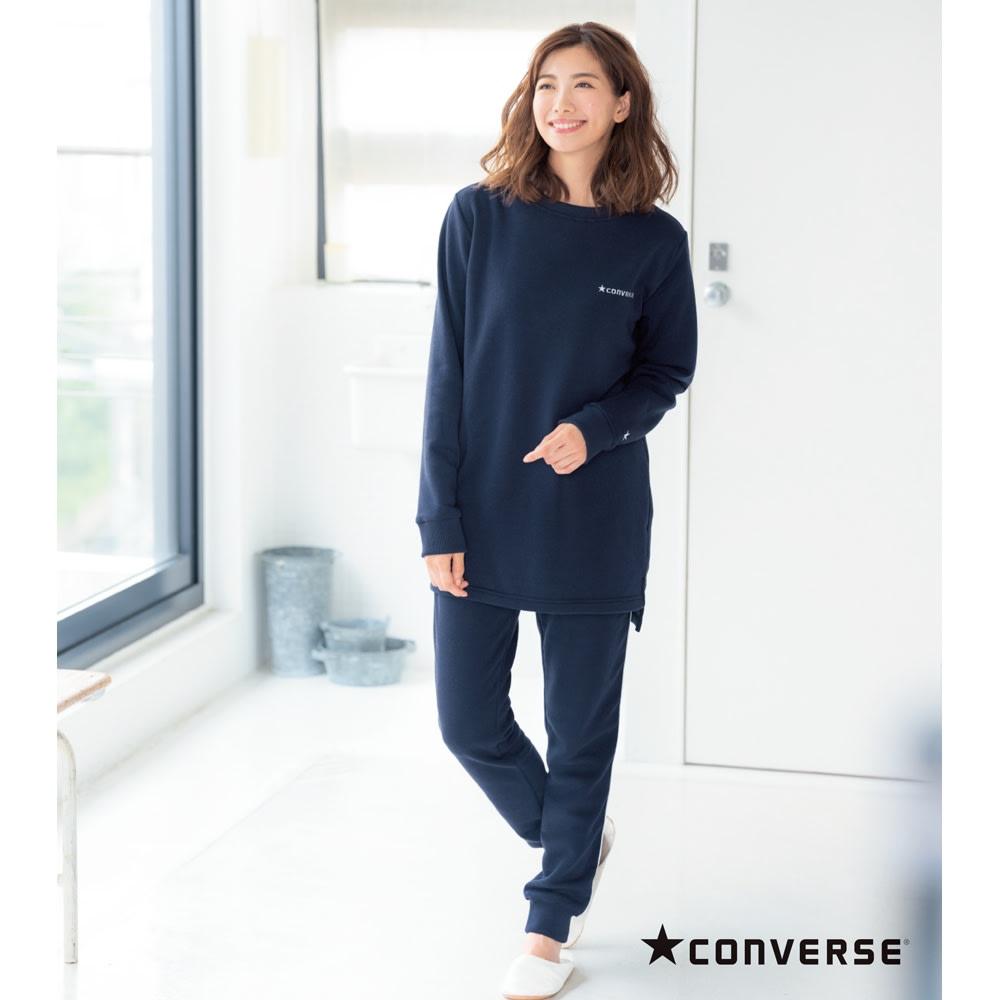 CONVERSE/コンバース リラックス上下セット (ア)ネイビー・・・コーディネート例