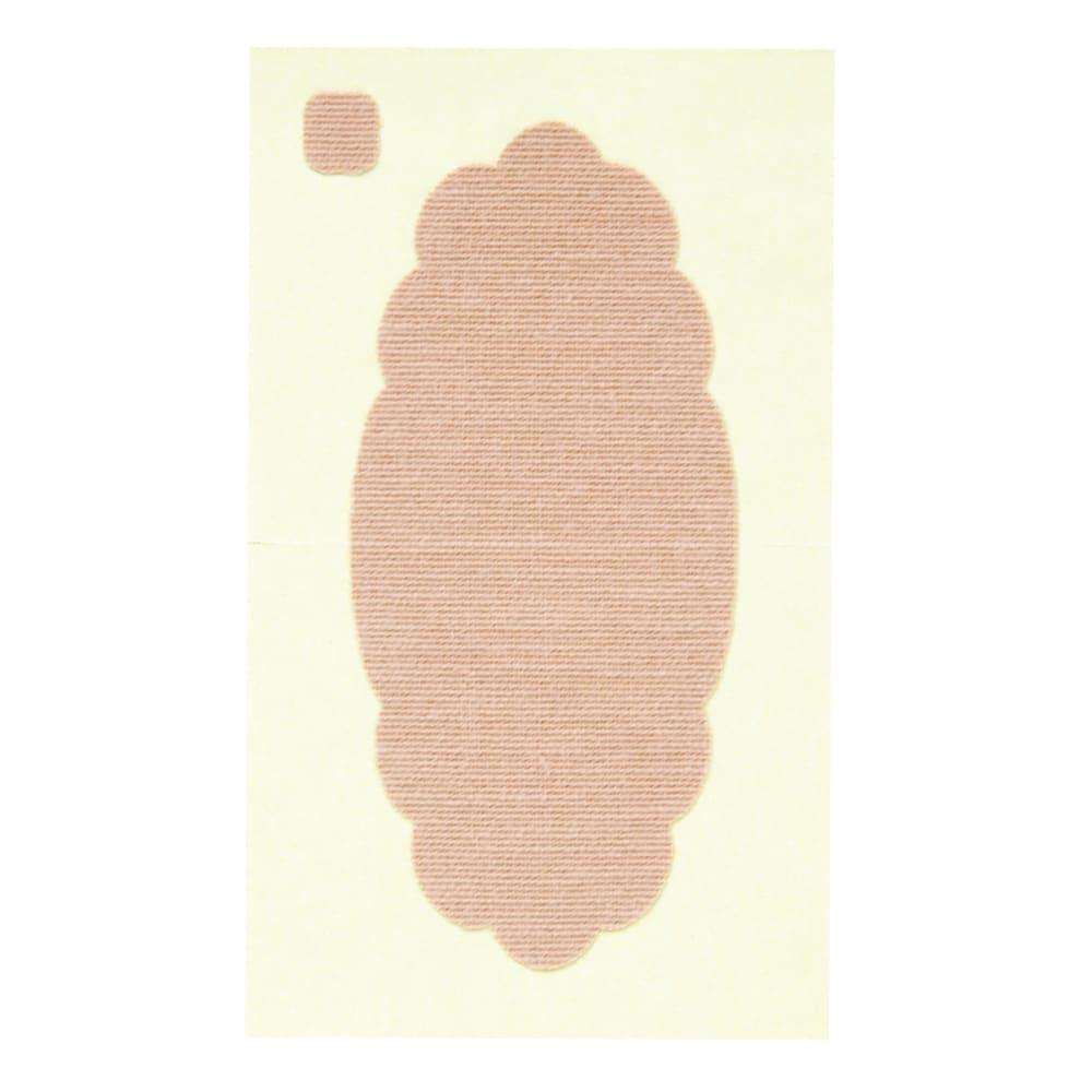 ワキに直接貼る消臭汗取りシート (ア)シール サッと貼れる使い切りタイプ。
