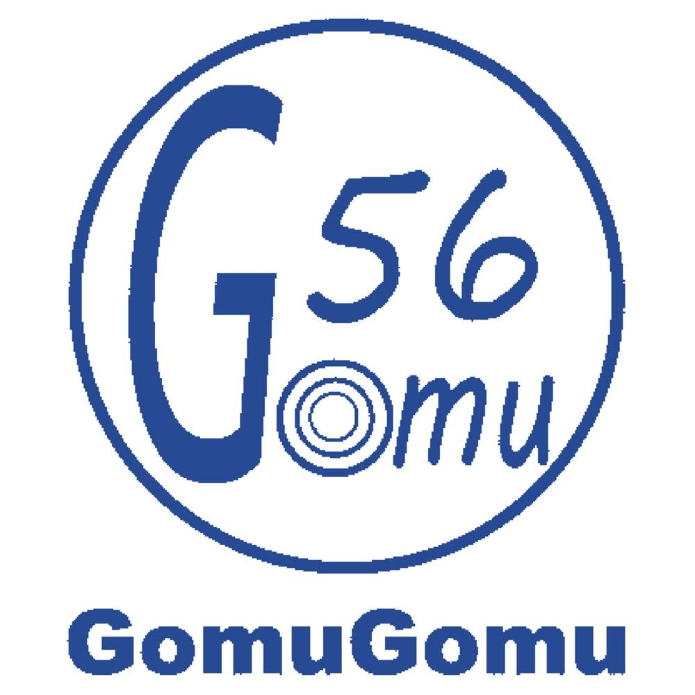 GOMUGOMU/ゴムゴム クロス風デザインサンダル