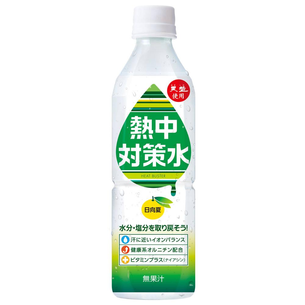熱中対策水 (500ml×24本) (イ)日向夏味