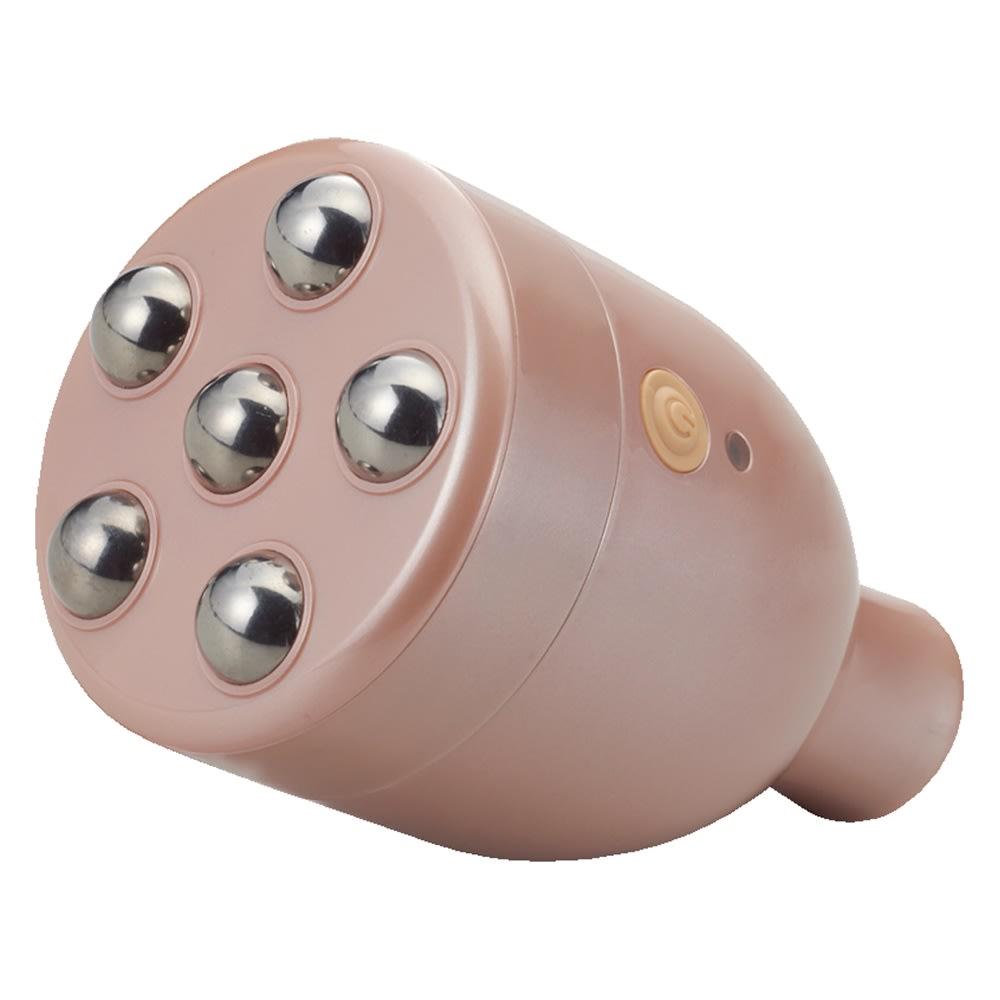 フェイシャルリフトアトワンス ローラーセット 振動+ローラーが肌を心地よくタッピング。リフトアトワンスのエクササイズ後にケアするとさらに効果的です。
