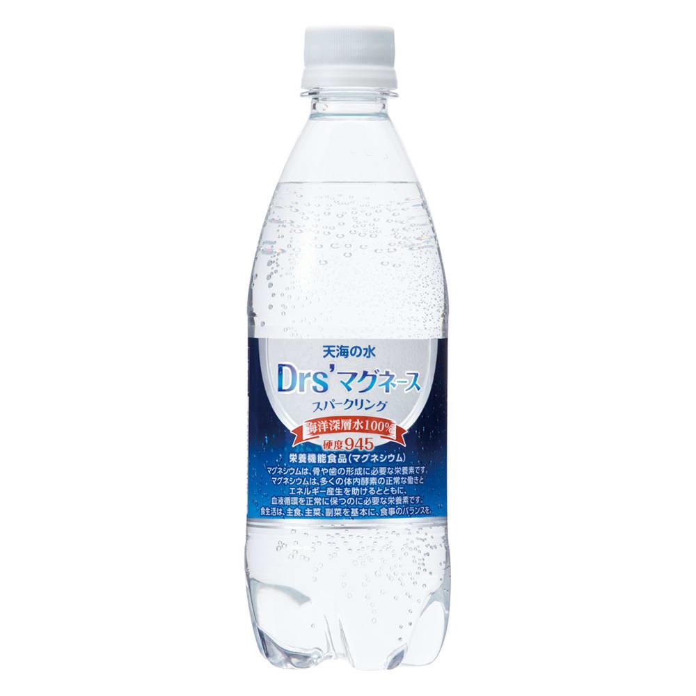 海洋深層水「天海の水」 ドクターズマグネーススパークリング (500ml×24本) 医師と共同開発 硬度945   栄養機能食品(マグネシウム)