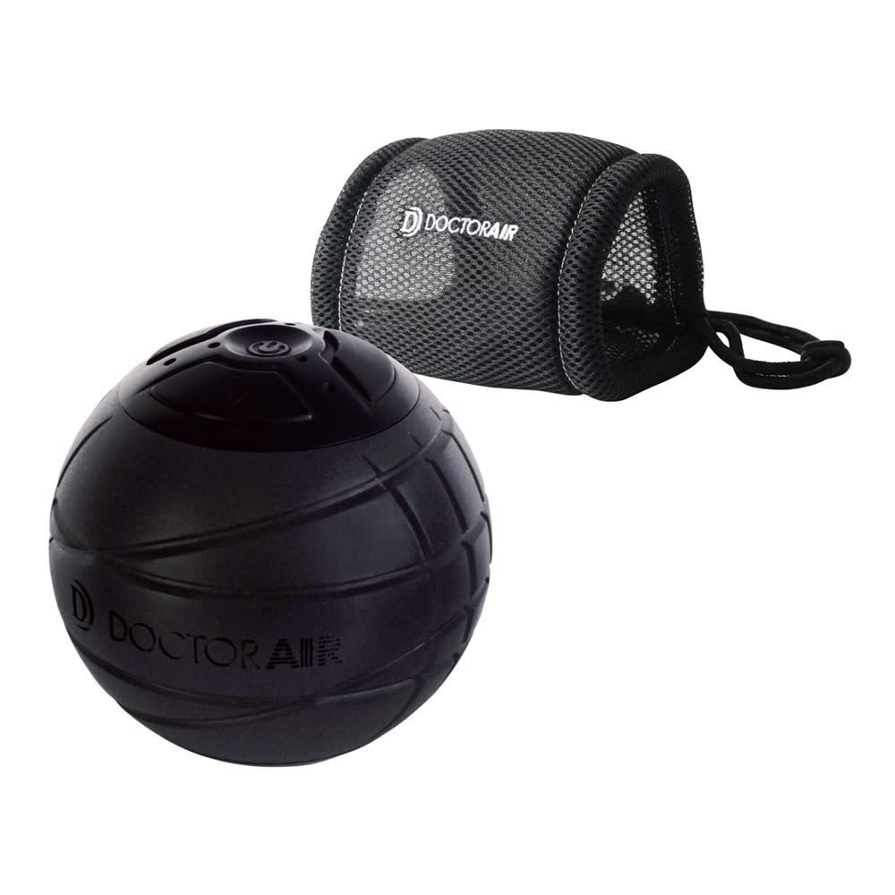 DOCTOR AIR/ドクターエア 3Dコンディショニングボール 肩甲骨や背中のケアに便利なアシストカバー付き。