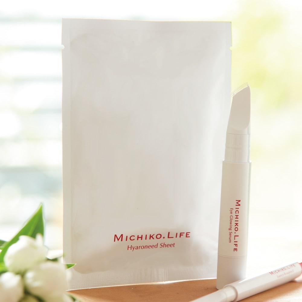 MICHIKO.LIFE/ミチコドットライフ ヒアロニードシート(左右2枚×1セット) W21507