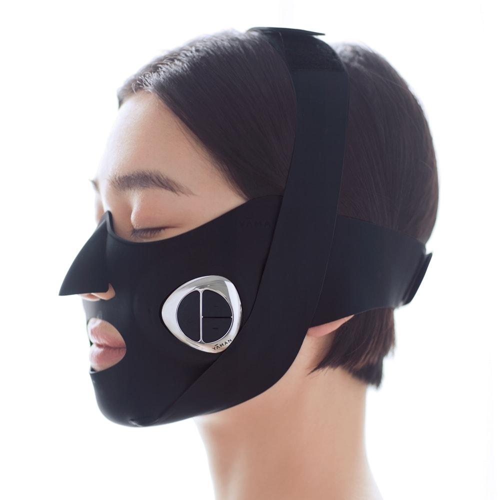 メディリフト メディリフト アクア (ア)ブラック 年齢とともに衰えがちな頬周りの筋肉は鍛えたい!でも歯ぎしりなどで発達し過ぎた咬筋は緩めてスッキリさせたい。そんな女性の救世主的EMSマスク!