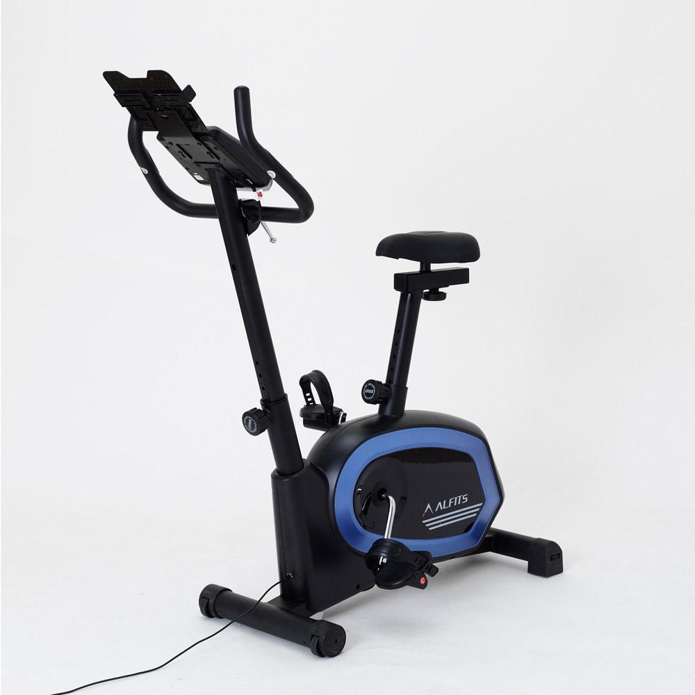 アルインコ/ALINCO プログラムバイク AFB6319 アルインコの健康管理アプリに対応。スマホと連動で快適な健康づくりをサポート。