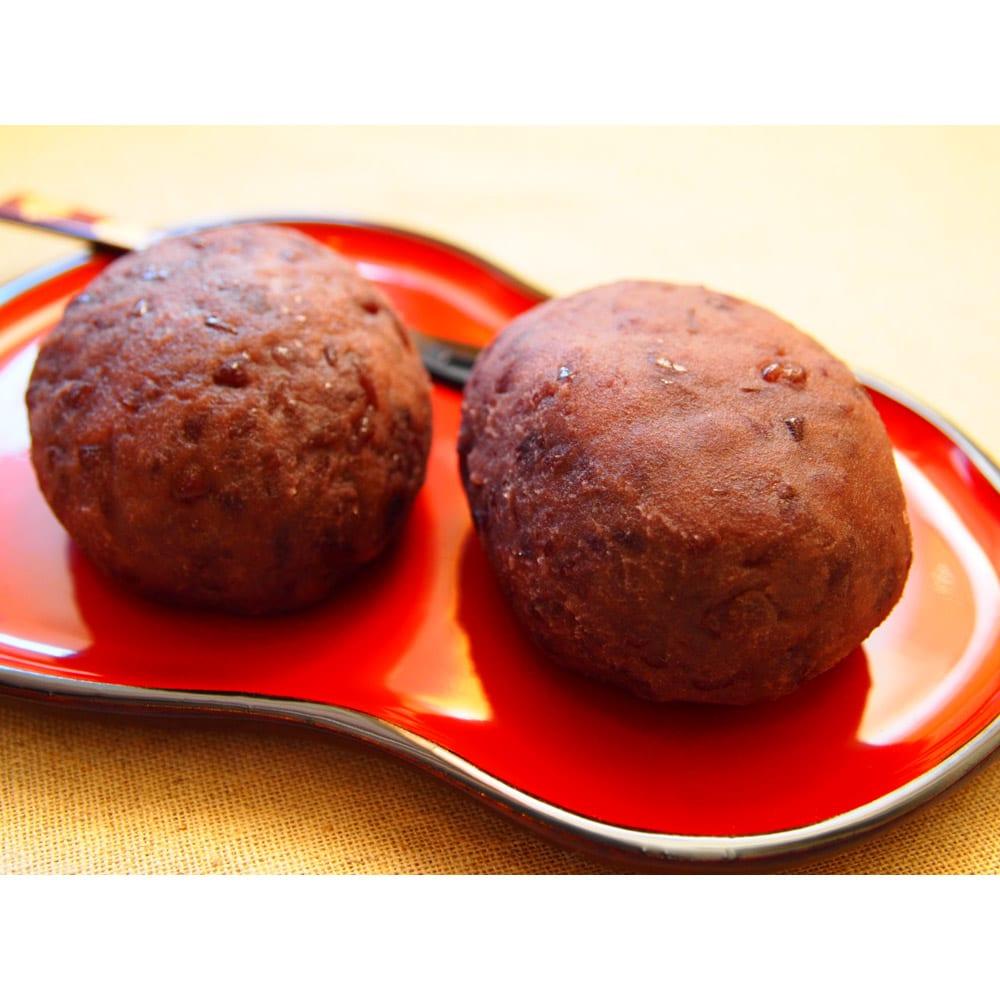 長兵衛玄米 (1kg×3袋) 調理例:おはぎ