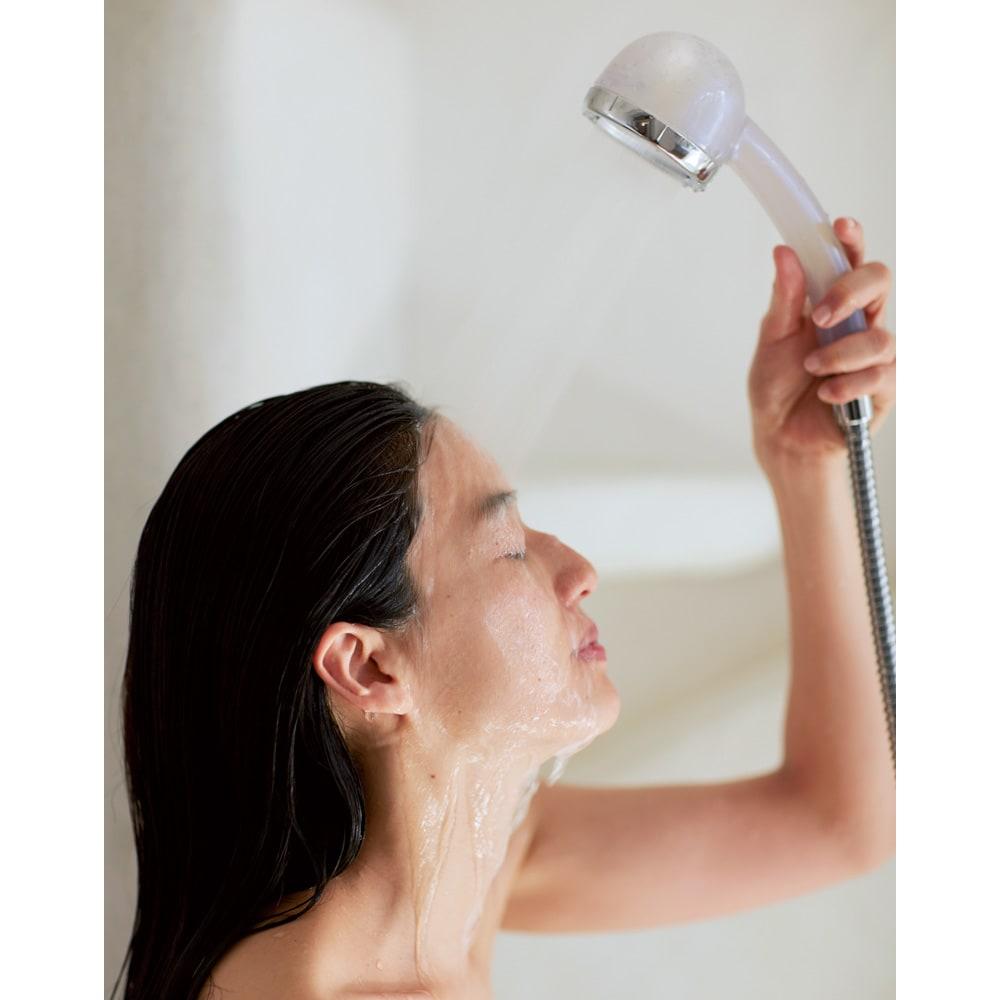 重炭酸Bio amane シャワーヘッド