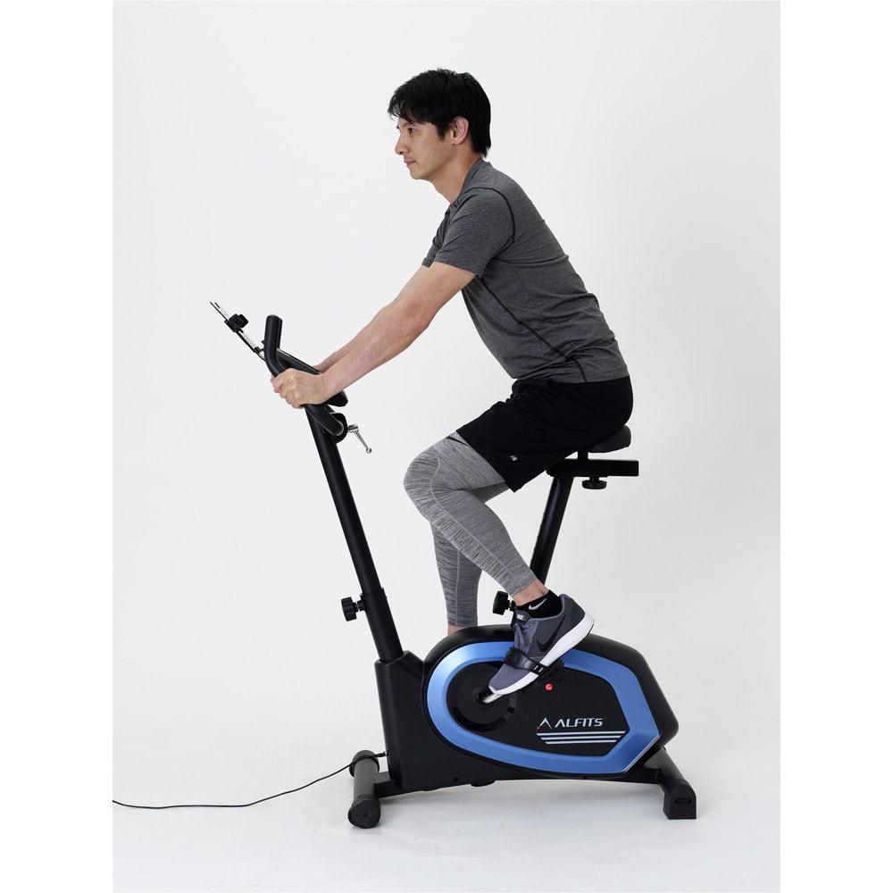 アルインコ/ALINCO プログラムバイク AFB6319 6種類の多彩なトレーニングメニューを搭載。目的に合わせて効率的に運動が行えます。