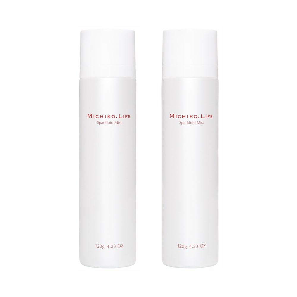 美容 健康 ダイエット スキンケア 基礎化粧品 美容液 マッサージクリーム MICHIKO.LIFE/ミチコドットライフ スパークロイドミスト(120g)2本組 W61402