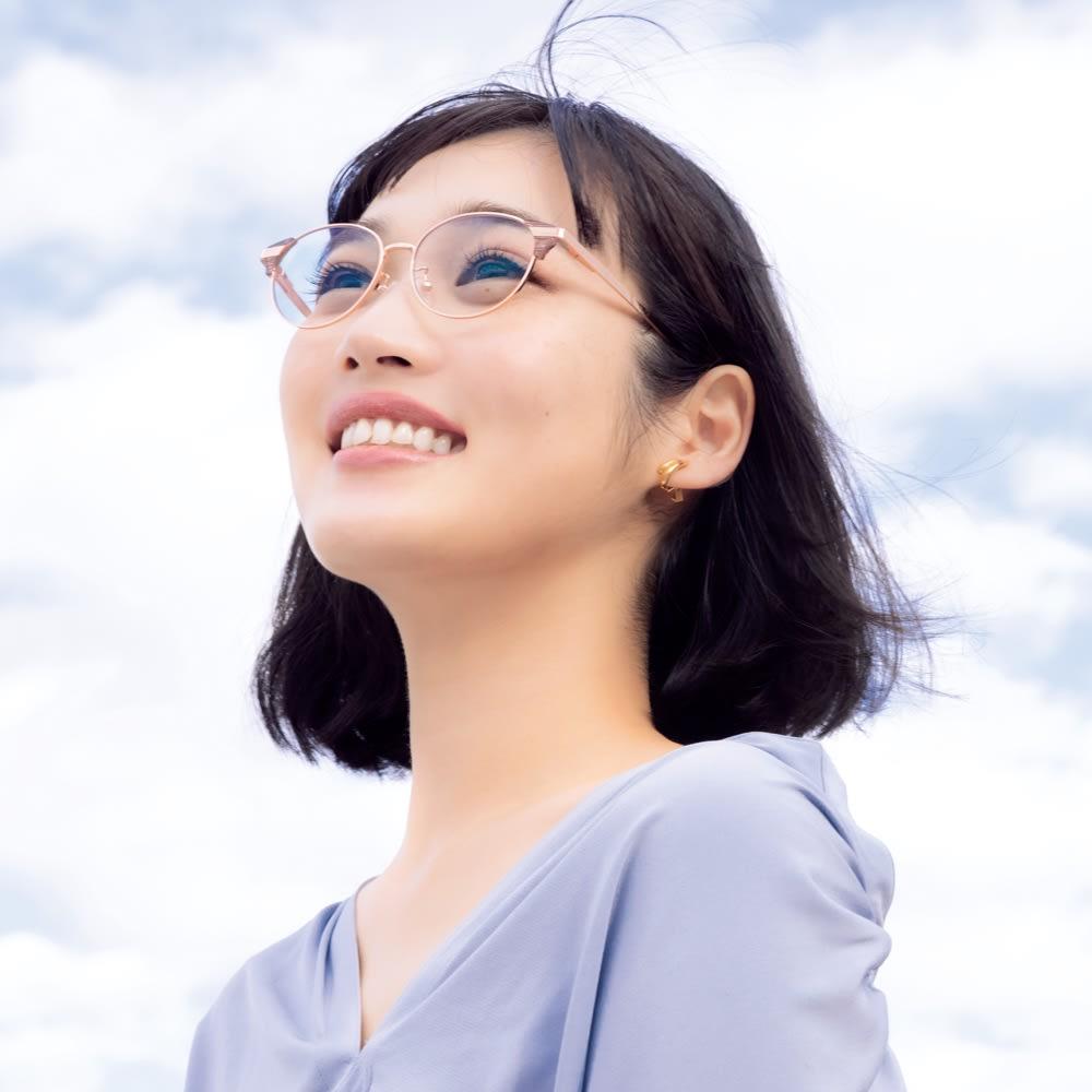 アイブレラ クリアフロー eyebrella ピュアゴールド/モカピンク 日傘・帽子・サングラス