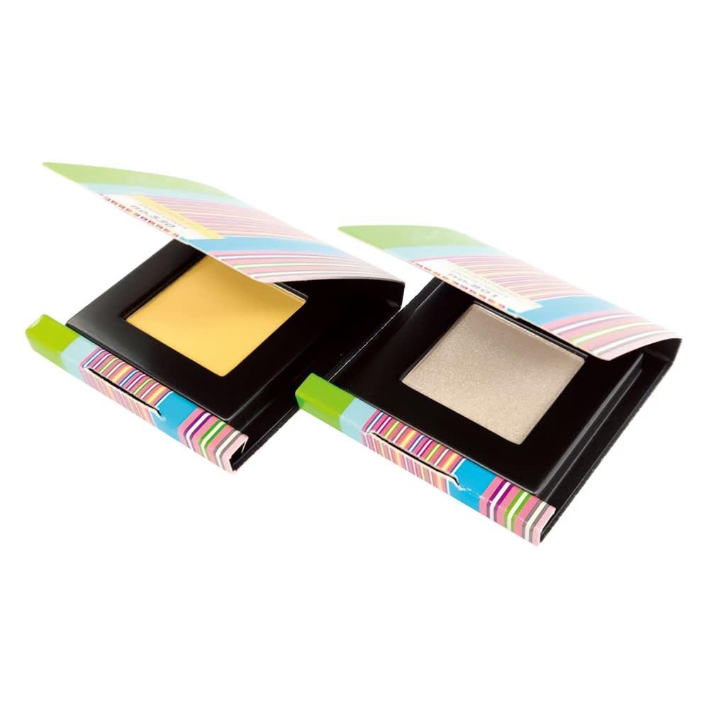 WATOSA/ワトゥサ ポイントカラーズ2色セット 明るいイエローとシャンパンゴールドカラーの2色セットです。