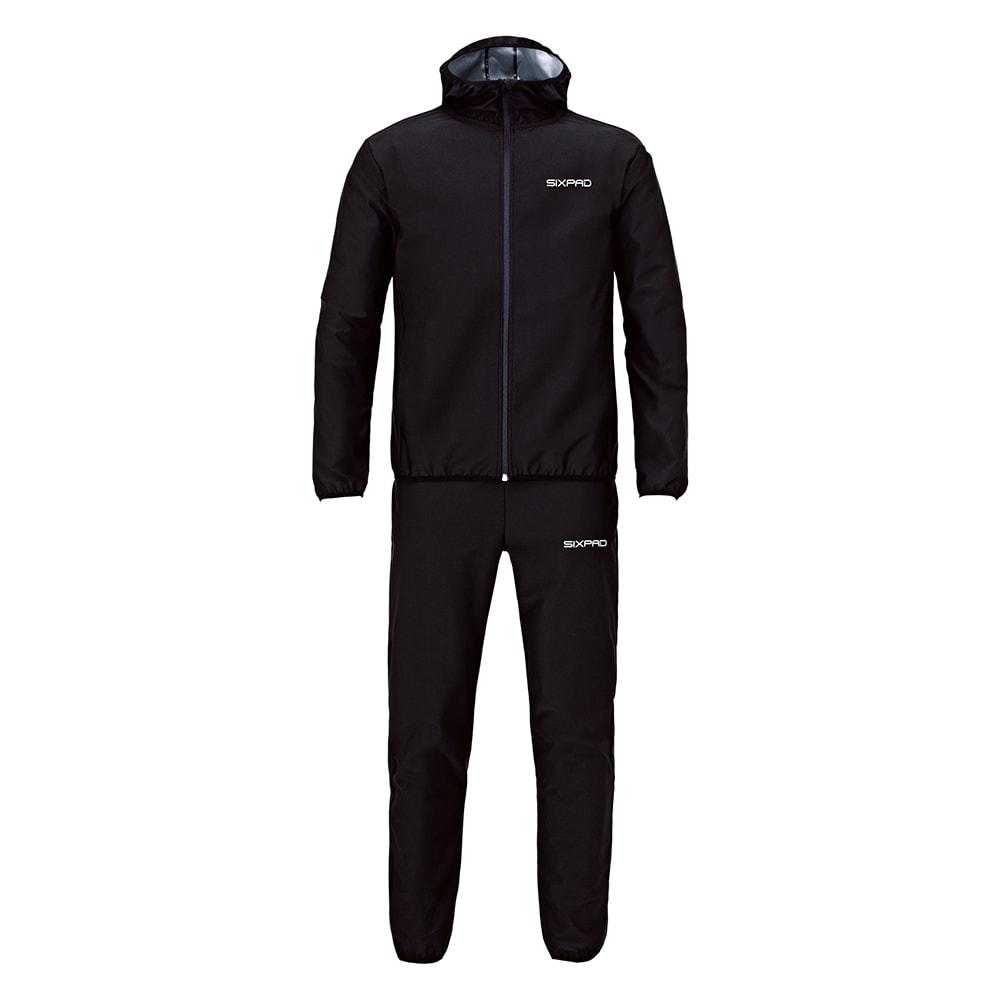 SIXPAD/シックスパッド サウナスーツ ブラック S~LL フィットネスウェア