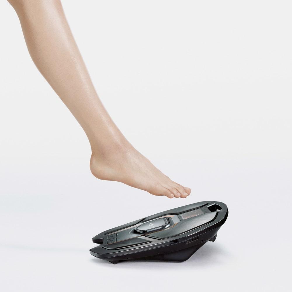 【送料無料】SIXPAD/シックスパッド Foot Fit(フットフィット) 足を乗せるだけで足裏とふくらはぎをEMS※トレーニング ※Electrical Muscle Stimulation=筋電気刺激