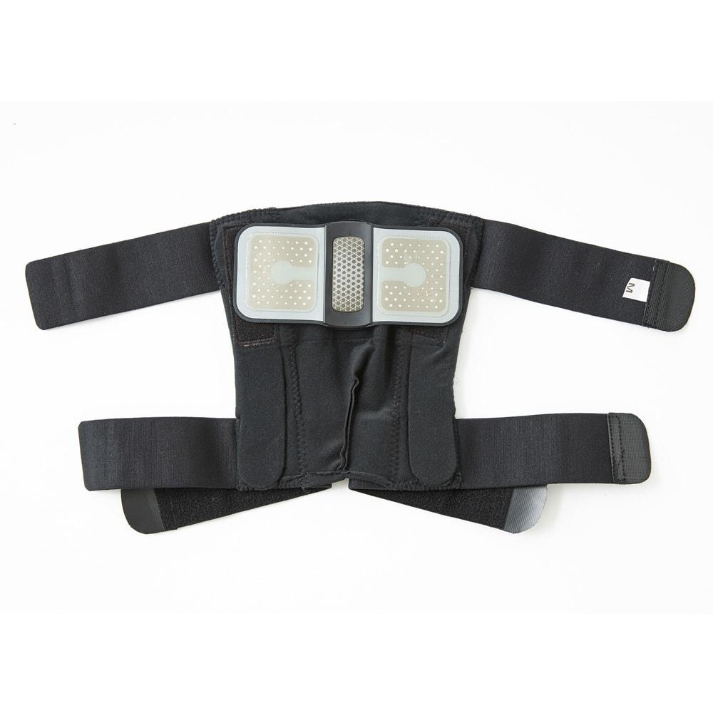 Medi KARADA/メディカラダ ひざ用EMSサポーター ゲルパッド貼付