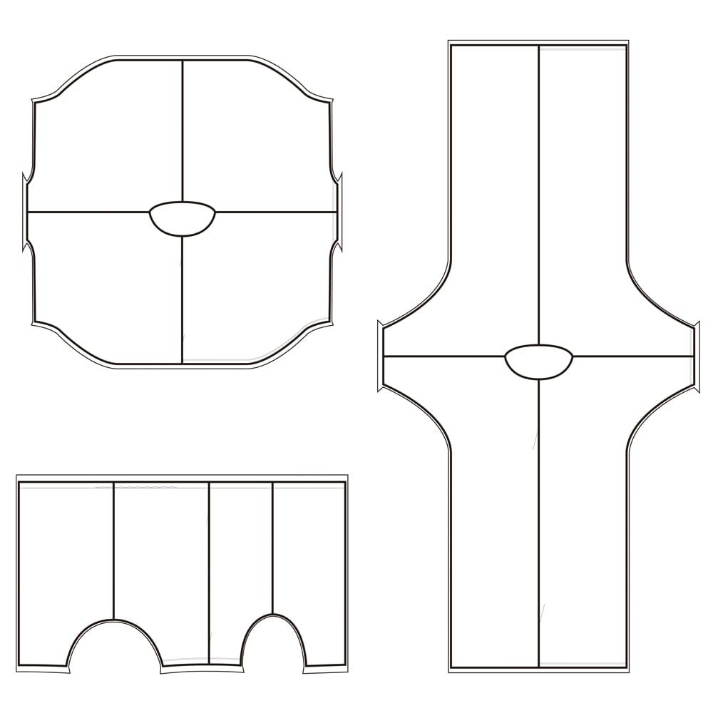 リカバリーウェア ベネクス コンフォートWシリーズ ワンピース(レディース用) ゆったりとしたストレスの少ない着用感。