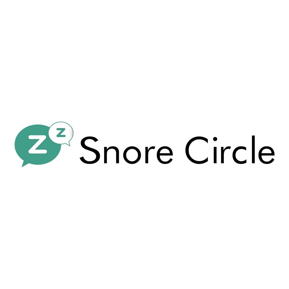 いびきケアアイテム スマートスノアストッパー「スノアサークル」 快適な眠りをサポートする「スノアサークル」ブランドです。