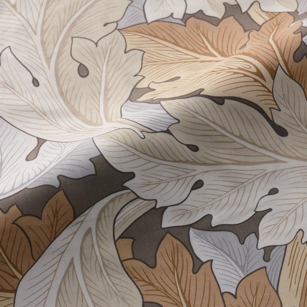 モリスギャラリー カバーリング〈アーカンサス〉 マルチカバー 約200×200cm (ア)ベージュ