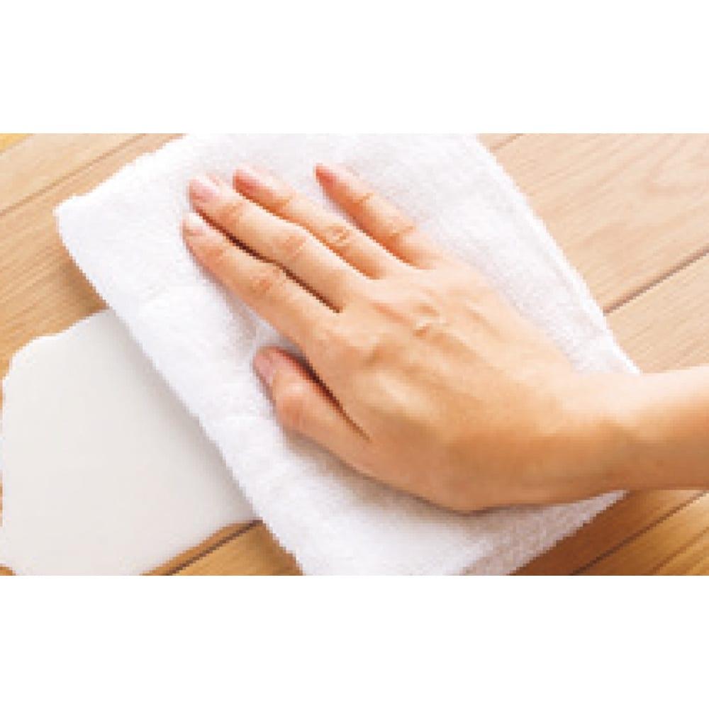 キルト柄 透明キッチンマット(奥行80cm) 水ハネや油の汚れも、サッと拭くだけで、きれいに。洗面所やペットのトイレまわりにもおすすめです。
