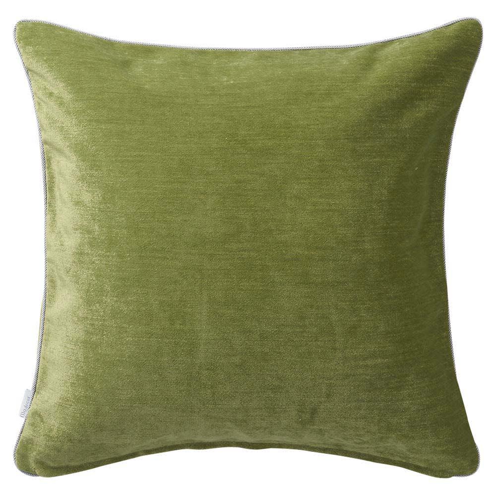 トルコ製生地使用 シンプルクッションカバー 45×45cm用 (オ)ライトグリーン