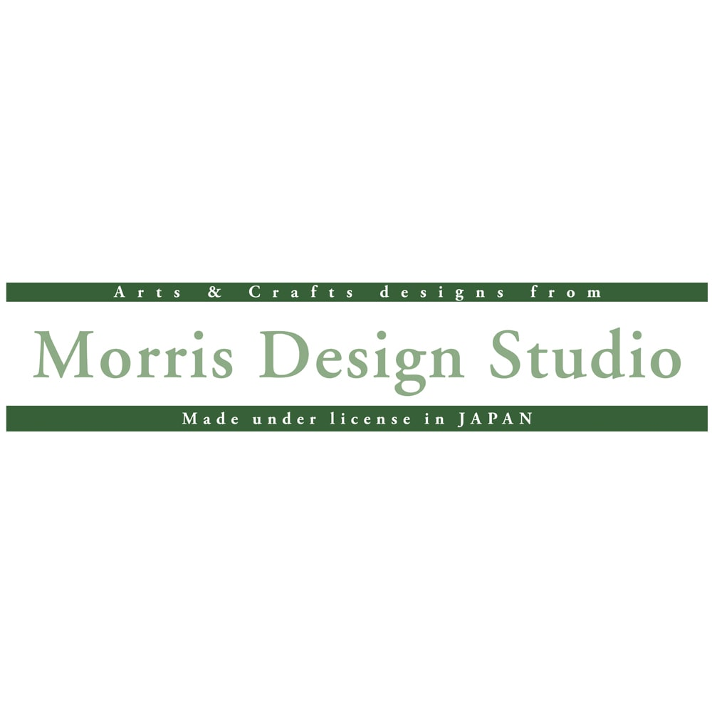 ベルギー製モリスゴブラン織ラグ〈いちご泥棒〉 「川島織物セルコン」は、モリスのデザインを引き継いだ英国サンダーソン(現ウォーカー・グリーンバンク社)のライセンスのもと、そのデザインを織物で表現し、「Morris Desigh Studio」のブランド名で展開しています。