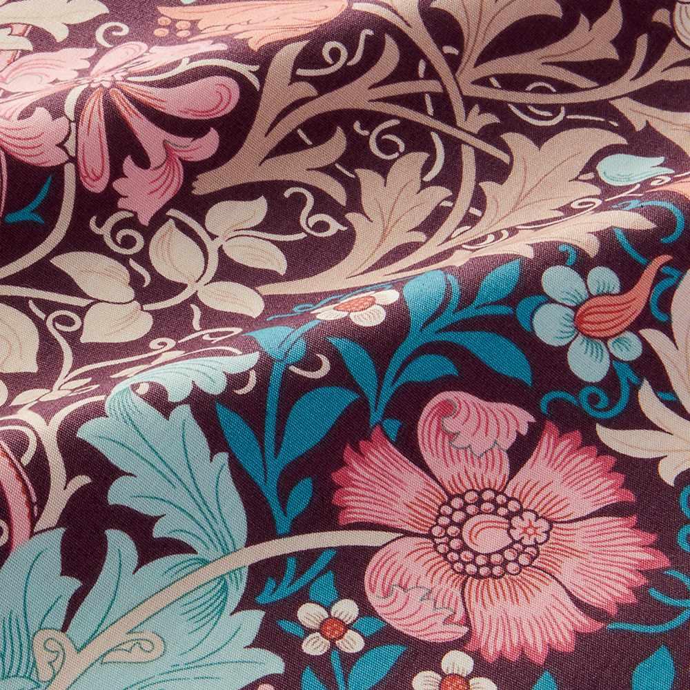 モリスギャラリー カバーリング〈コンプトン〉 掛け布団カバー ダブルロング (ア)ピンク系 表