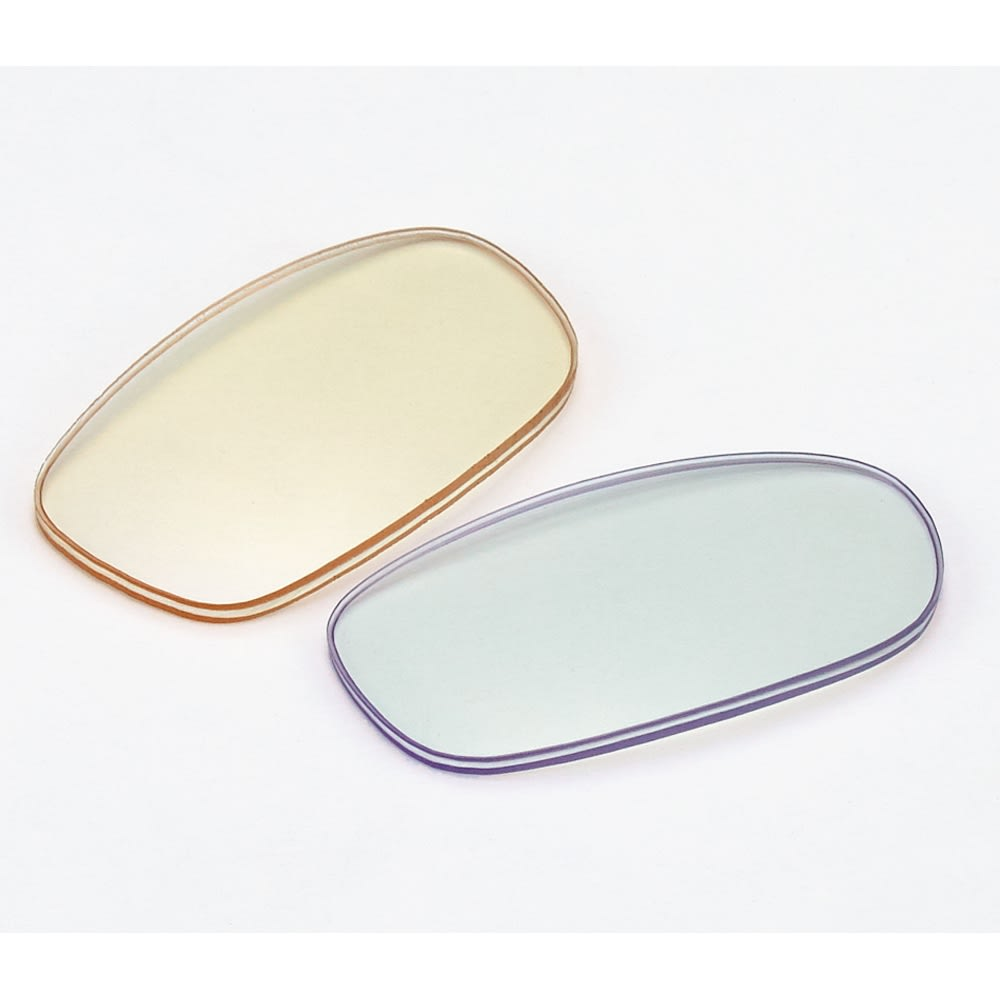 フィルストン UV&ルーライトカット リーディンググラス(男女兼用) ボストン型 無地 従来品 本品 UV&ブルーライトをカットする眼鏡でありながら、レンズはほぼ無色のクリア。。(写真は別タイプの形です)