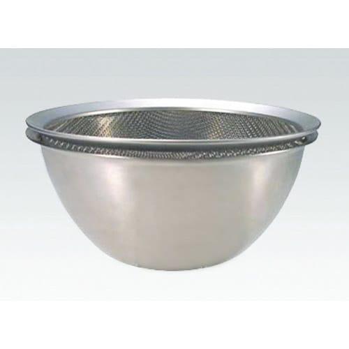 有元葉子のラバーゼ 丸ざる小単品 別売りのボウルと重ねて使用するとザルがちょっと浮いて大変使いやすく便利です。