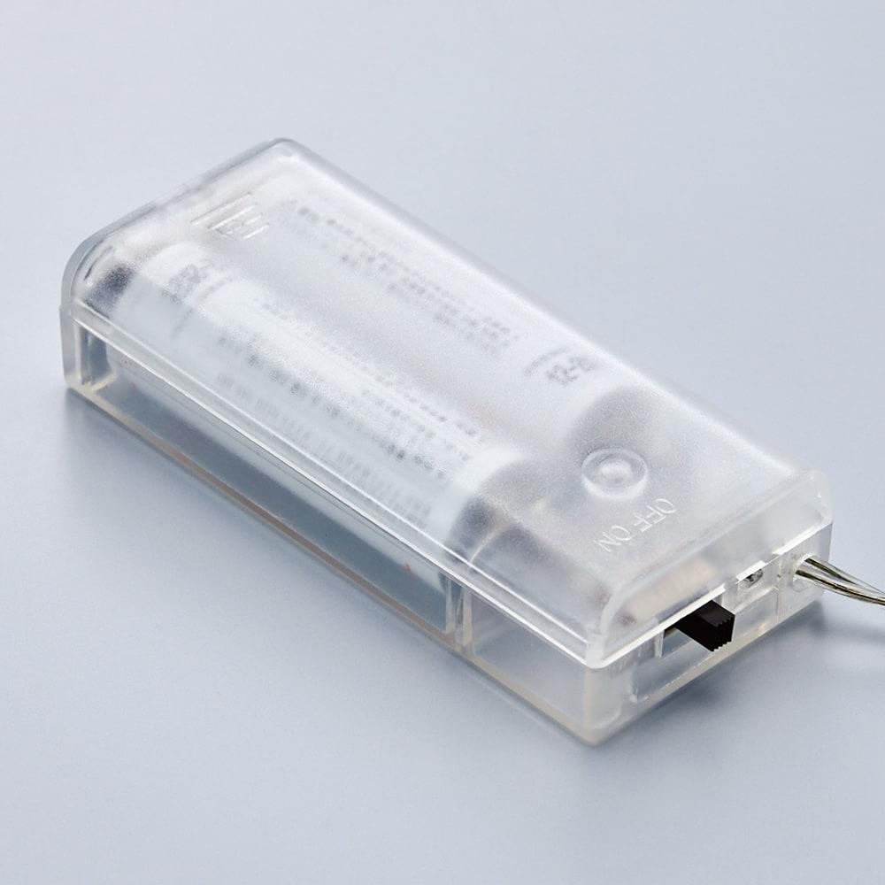 LEDライト ガーランド 電池式です。