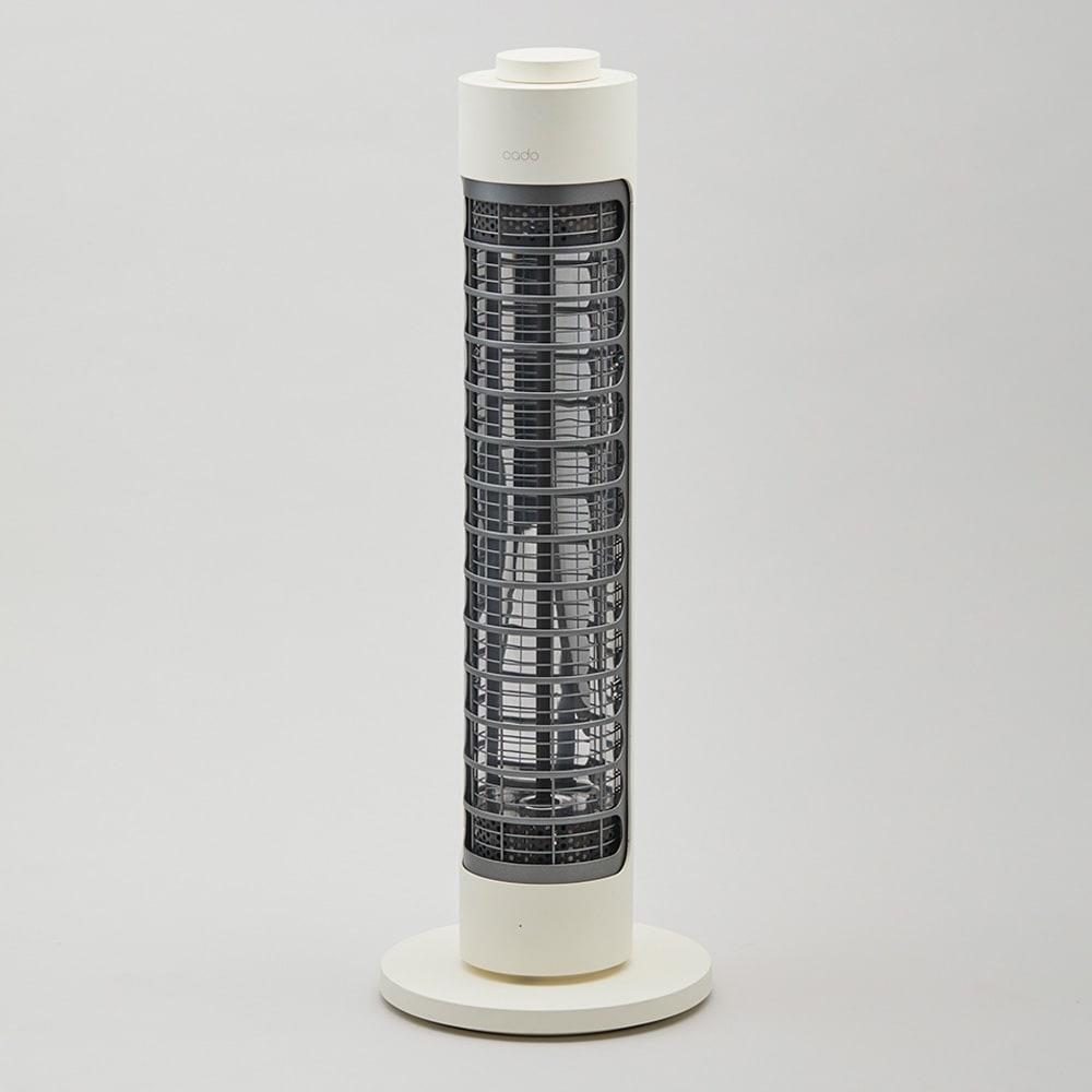 cado/カドー 電器ヒーター「SOL-001」 (イ)ホワイト