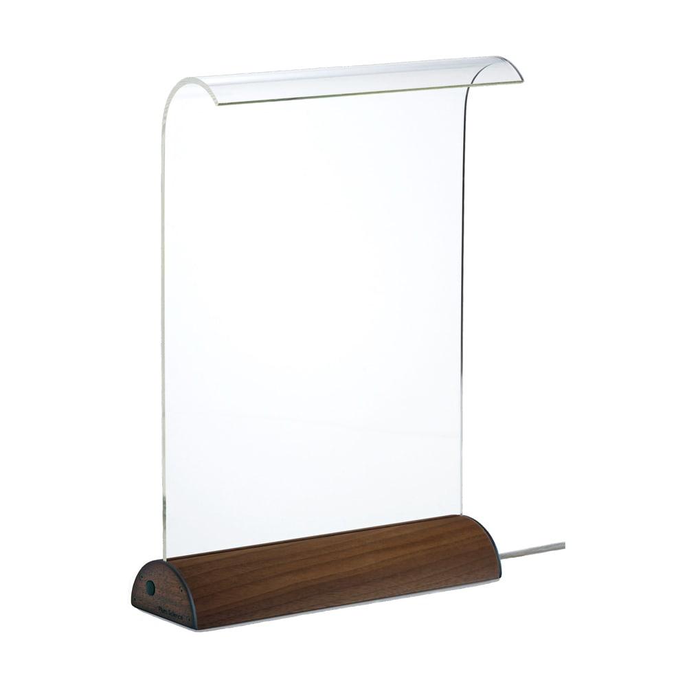 LEDデスクライト Glowide 木目タイプ (ア)ウォールナット