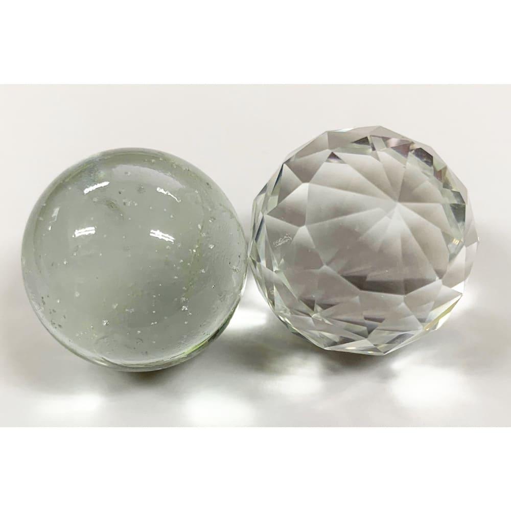 グローワイド スタンドライト 「フォンターナ」 ガラスボール2種(透明・ミラー)は本体シルバー、シャンパンに付属いたします。