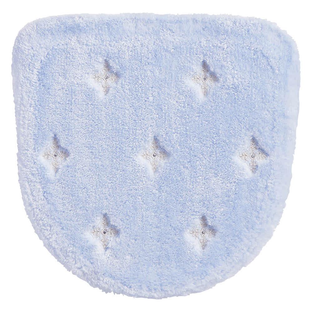 <ニーナス>洗浄暖房器用フタカバー (ウ)アクアブルー